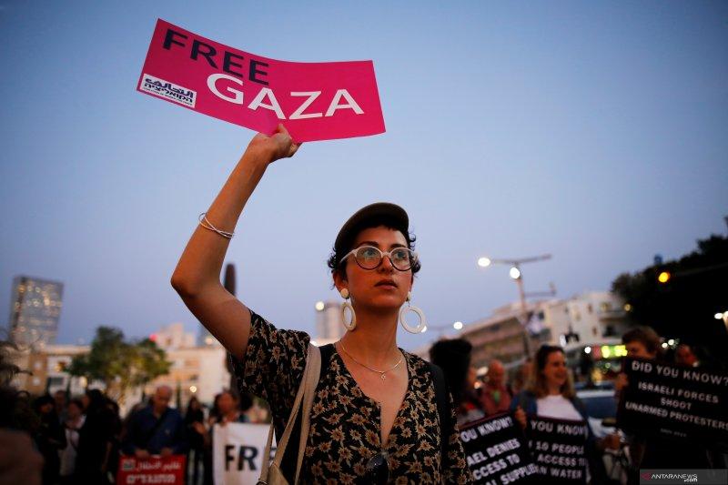 Wali kota Tel Aviv minta papan iklan 'penyerahan diri' Palestina dicopot