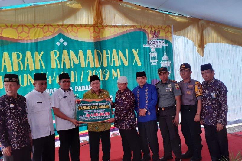 Selama 2019, Baznas Padang target kumpulkan zakat Rp32 miliar
