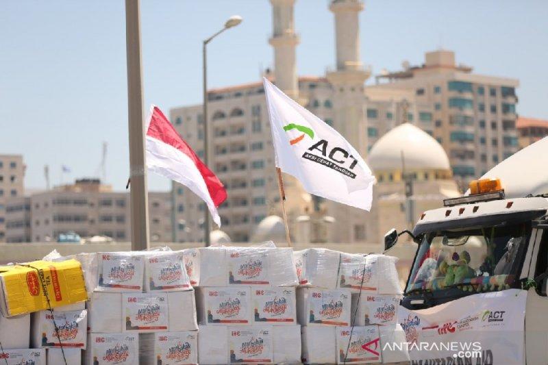 2.500 warga Gaza terima bantuan pangan ACT