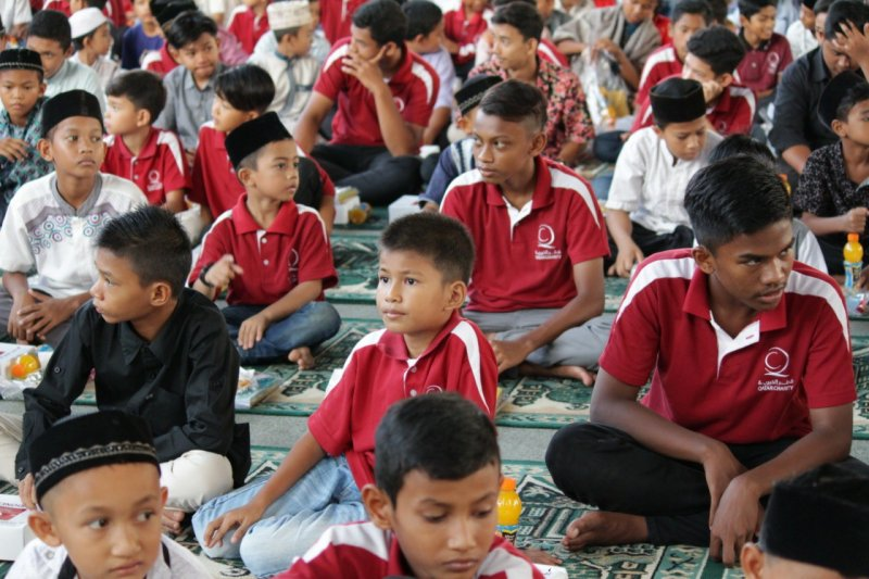 Dompet Dhuafa buka puasa bersama anak yatim-duafa Aceh