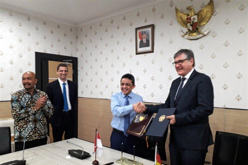 Indonesia-Jerman tanda tangani kerja sama proyek senilai Rp599 miliar