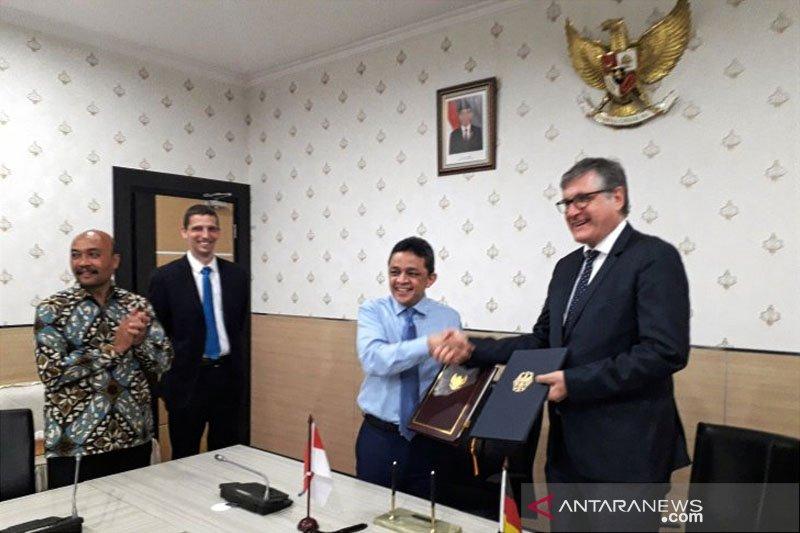 Indonesia-Jerman tandatangani kerja sama proyek senilai Rp599 miliar