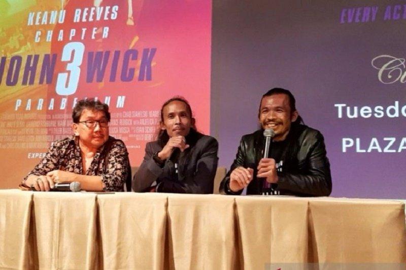 """Film """"John Wick 3"""" hadirkan pencak silat dan kerambit, Yayan Ruhian bangga"""