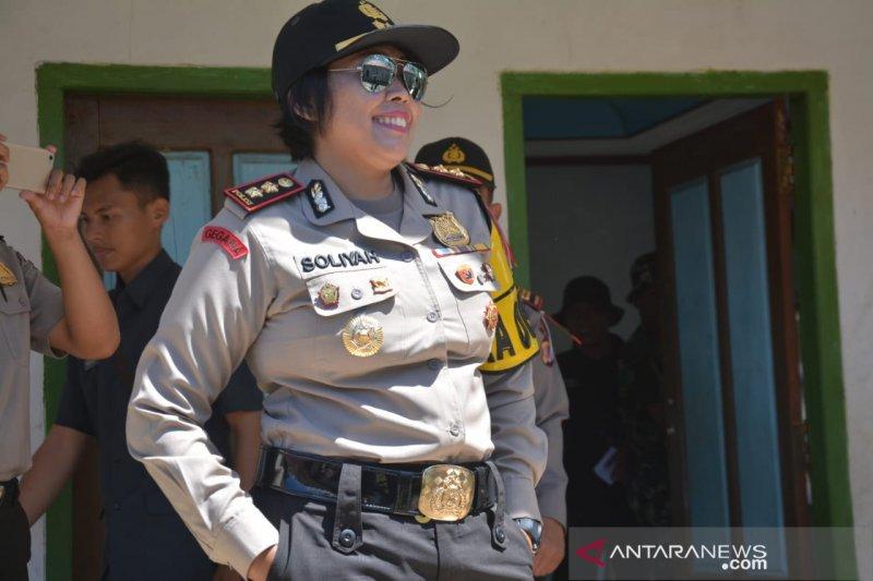 Polisi: masih banyak jalan nasional di Cianjur berlubang