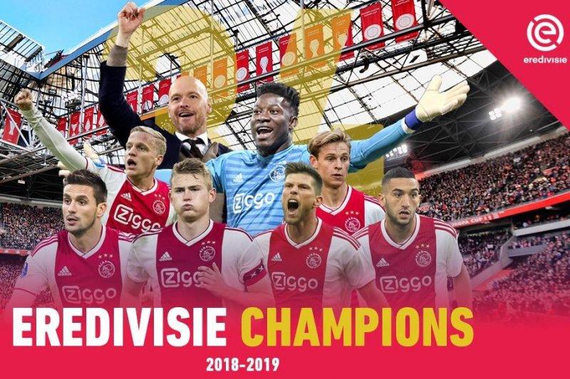 Ini dia juara Liga Belanda