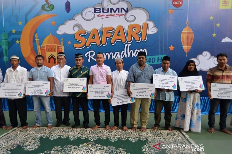 Safari Ramadhan, BUMN santuni 1.000 anak yatim Aceh