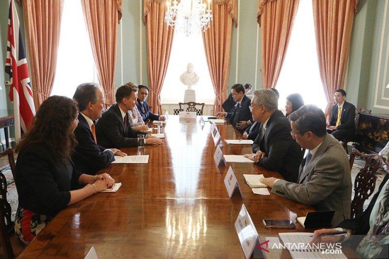 Menteri Inggris bertemu Dubes negara ASEAN untuk perkuat hubungan