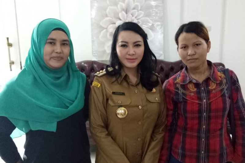 Bupati Landak beri bantuan hukum kepada korban TPPO