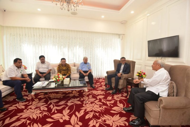Gubernur Sulsel-Komisaris KBN bahas kawasan industri baru Takalar