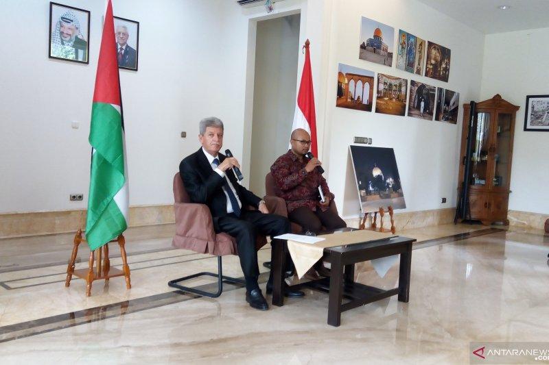 Dubes Palestina: proposal perdamaian AS tidak Solusi Dua Negara