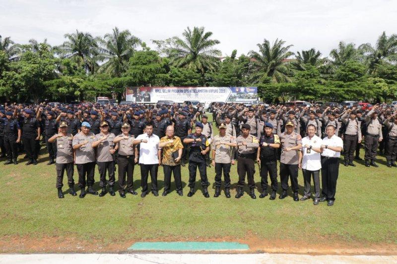 Polda Kalbar Kembali Kirim Ratusan Brimob dan Ditsamapta ke Jakarta, Untuk Apa?