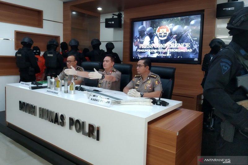 Polri: Teroris ingin manfaatkan momen 22 Mei 2019 untuk aksi teror