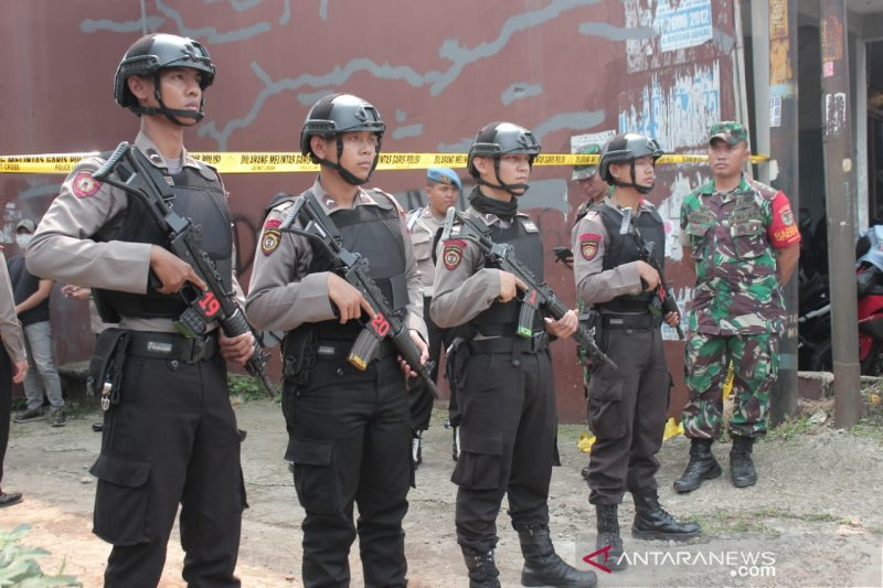 Belum sebulan polisi tangkap 31 terduga teroris