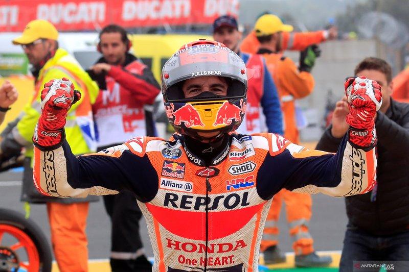 Marc Marquez  sukses menjuarai MotoGPseri GP Prancis