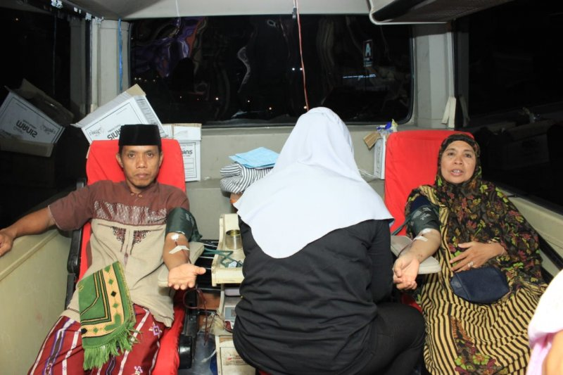 Penuhi kebutuhan darah selama Ramadhan, PMI Palu keliling masjid
