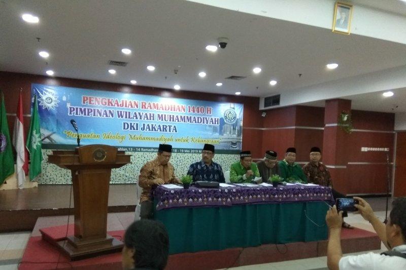 Muhammadiyah DKI ajak umat Islam bersikap damai