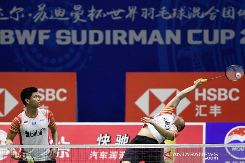 Piala Sudirman, Indonesia menangi laga pembuka, China lumat Malaysia