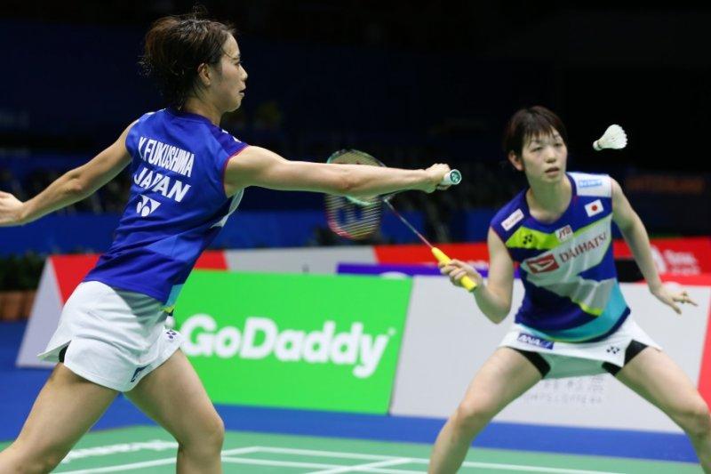 Piala Sudirman, Jepang atasi perlawanan sengit Rusia