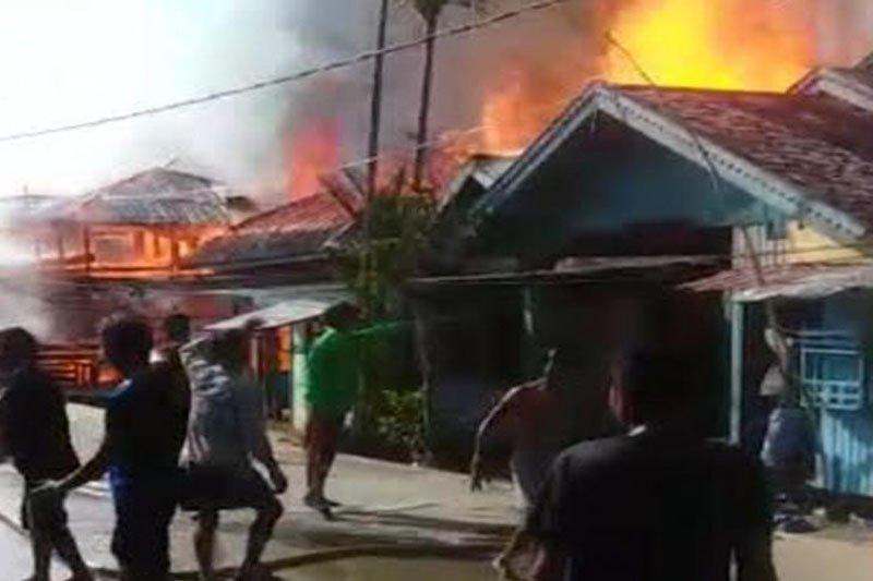 Enam rumah di Barito Selatan ludes terbakar