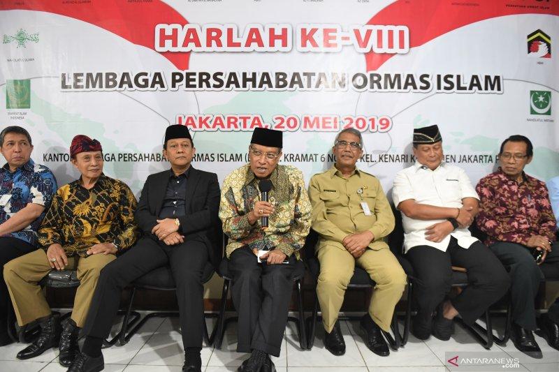 Pernyataan sikap Ormas Islam terkait