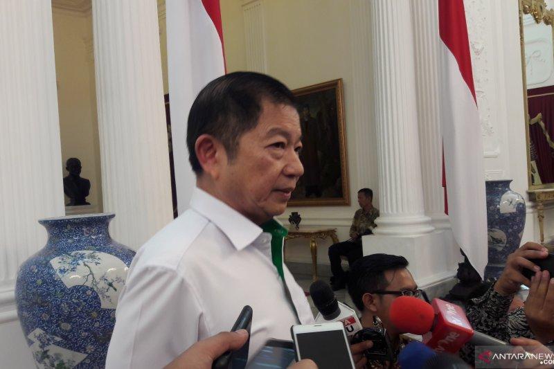 Sejumlah ketua partai ucapkan selamat kepada Jokowi