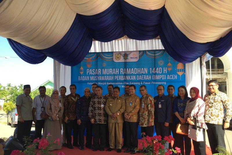 Perbankan Aceh sediakan 1.000 paket sembako jelang Idul Fitri