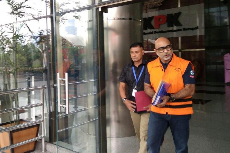KPK perpanjang penahanan dua tersangka kasus Krakatau Steel