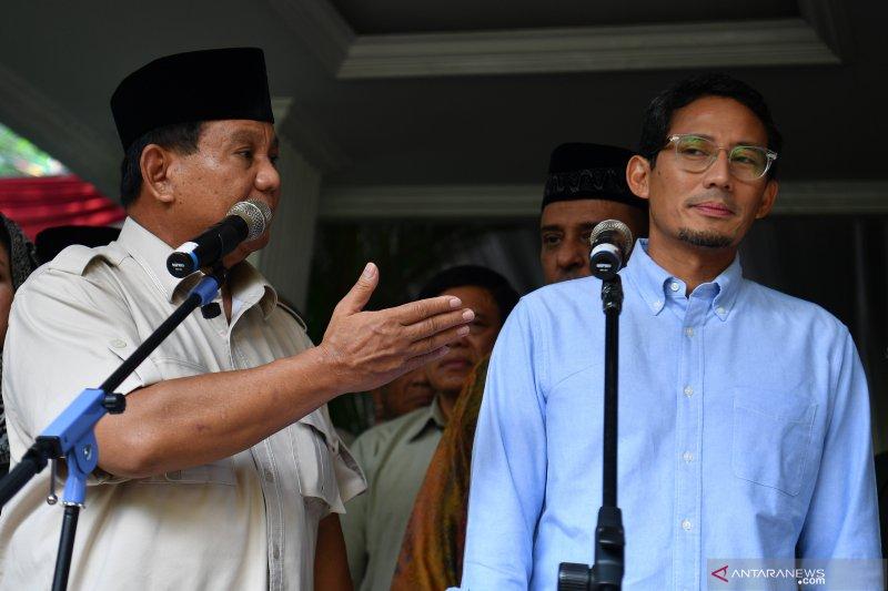 Prabowo minta tahan diri dan tidak lakukan kekerasan