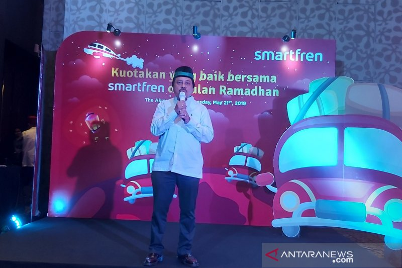 Jamin sinyal mudik, Smartfren tambah kapasitas jaringan