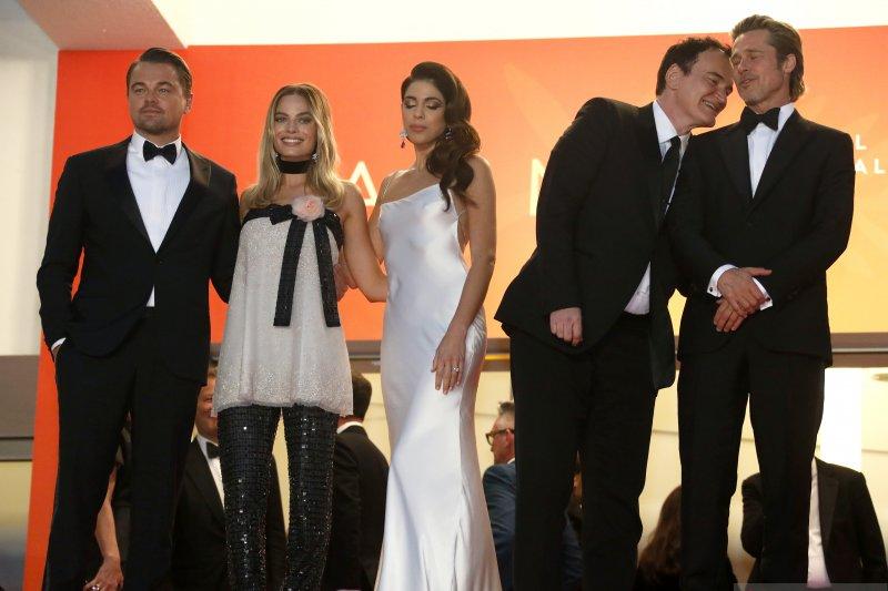 DiCaprio, Brad Pitt, dan Margot berikan nuansa Hollywood di Cannes