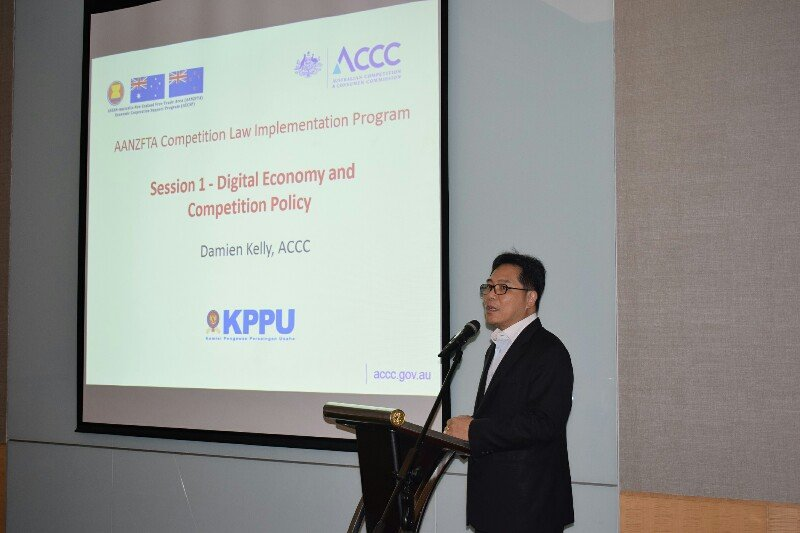 Pelatihan persaingan usaha jawab perkembangan ekonomi digital