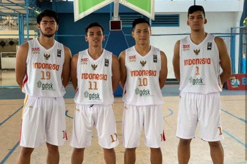 Timnas basket 3x3 putra membidik empat besar Piala Asia di China