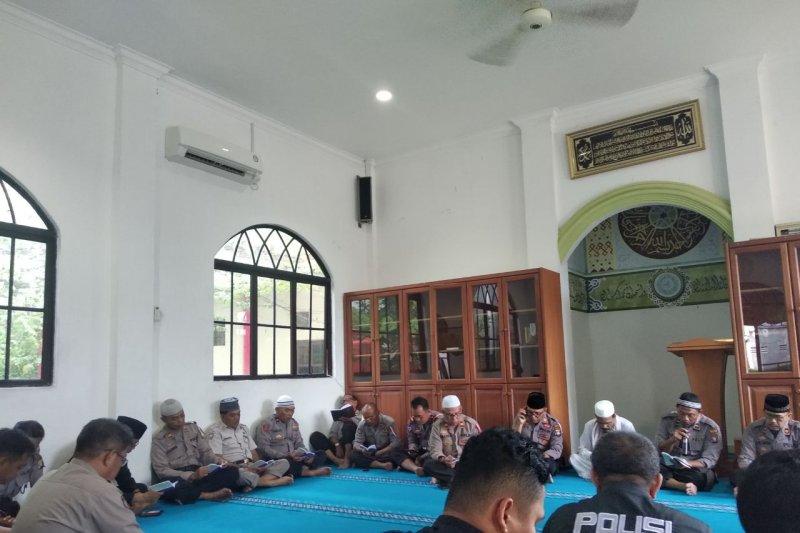 Polisi Tanjungpinang doa bersama untuk keamanan Indonesia pasca Pemilu