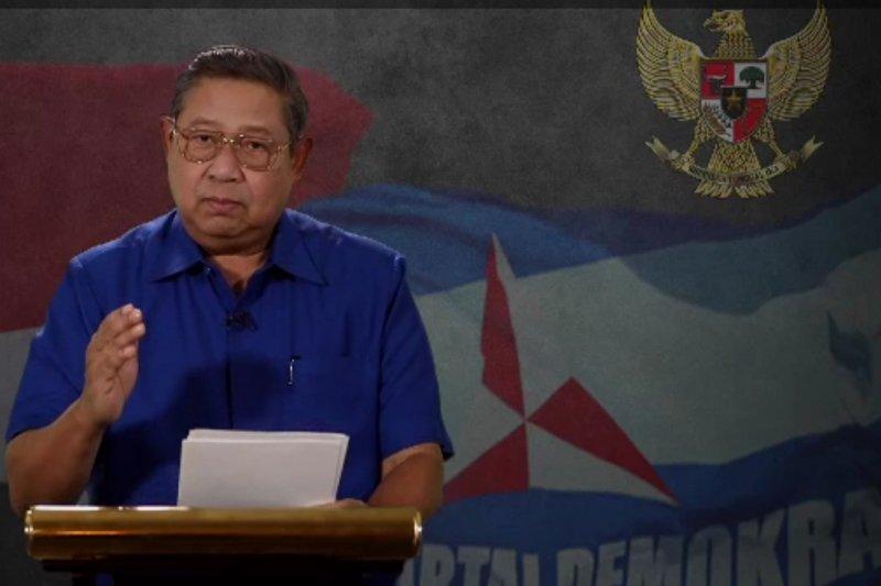 Pidato politik perdana SBY setelah delapan bulan terakhir