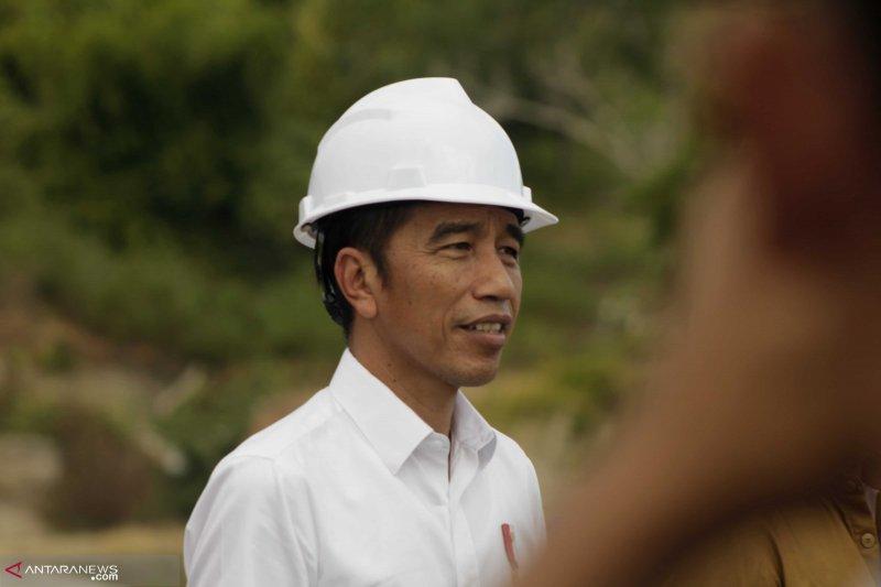 Masyarakat perbatasan berikan ucapan selamat kepada Jokowi