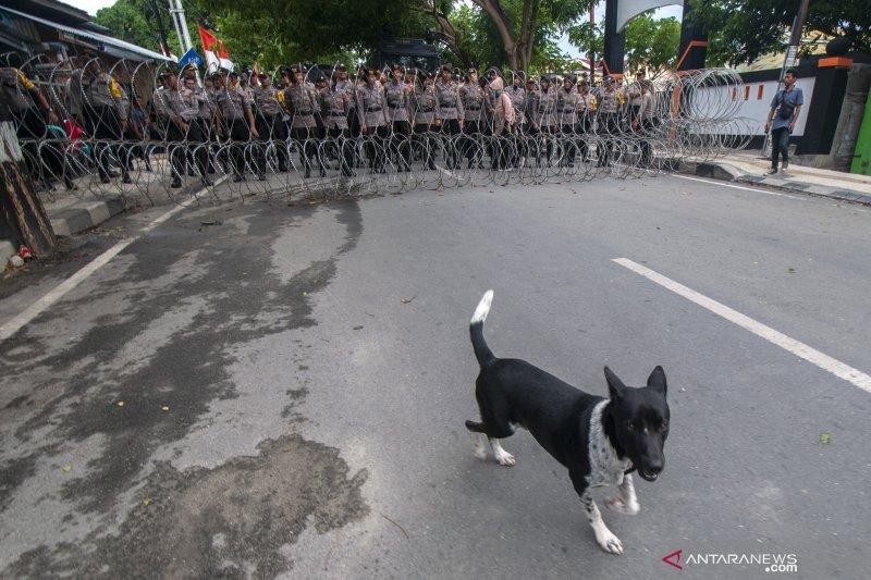 Polres Palu siagakan lebih dari 800 personel kawal demonstrasi di KPU