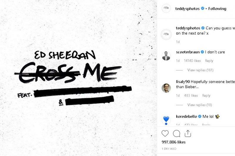 Es Sheeran akan kolaborasi dengan dua musisi