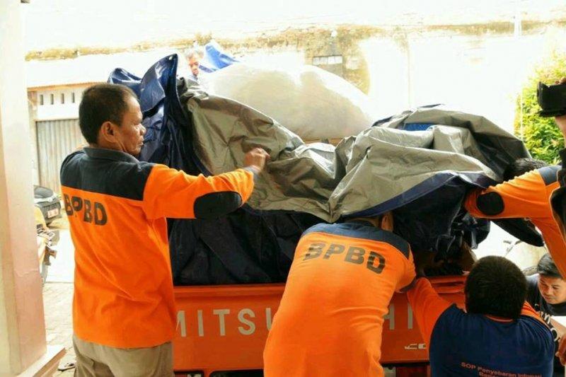 BPBD Lebak salurkan bantuan korban banjir bandang