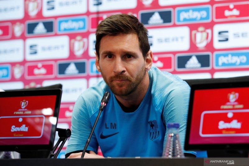 Lionel Messi pilih Neymar kembali ketimbang datangkan Griezmann