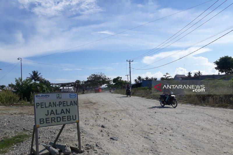 Pemerintah diharap bangun kembali jalan Poros Palu-Palolo pascabencana