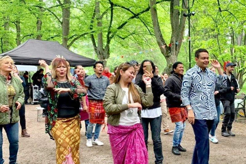 Ragam Budaya Indonesia Tampilkan di Festival Kultur Uppsala Swedia