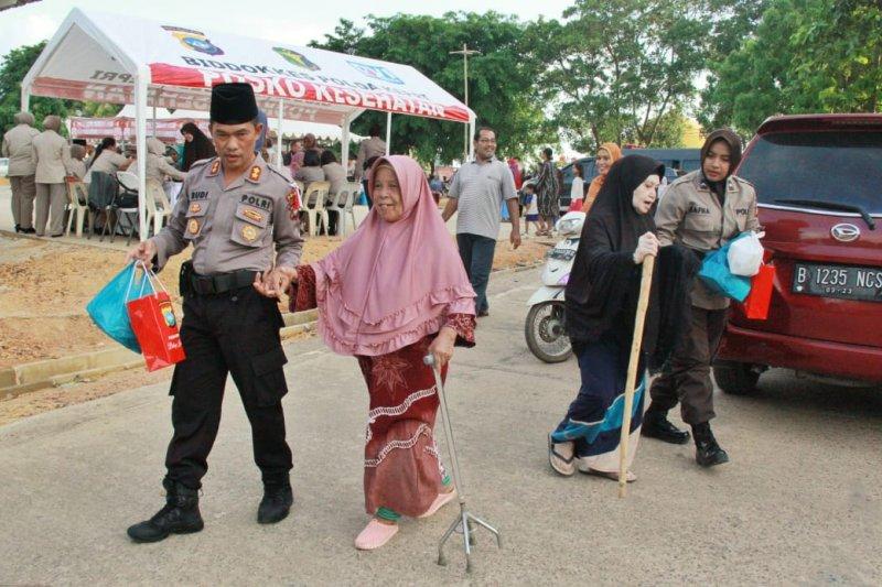 Polda Kepri gelar pemeriksaan kesehatan gratis di Batam