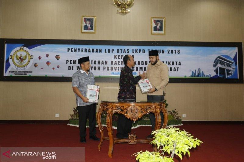Padang Panjang raih penghargaan WTP