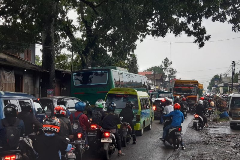 Polres Sukabumi petakan jalur mudik rawan kemacetan