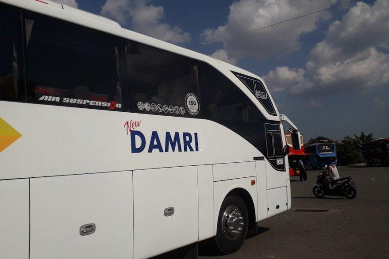 Lonjakan jumlah penumpang Damri terjadi pada H-7