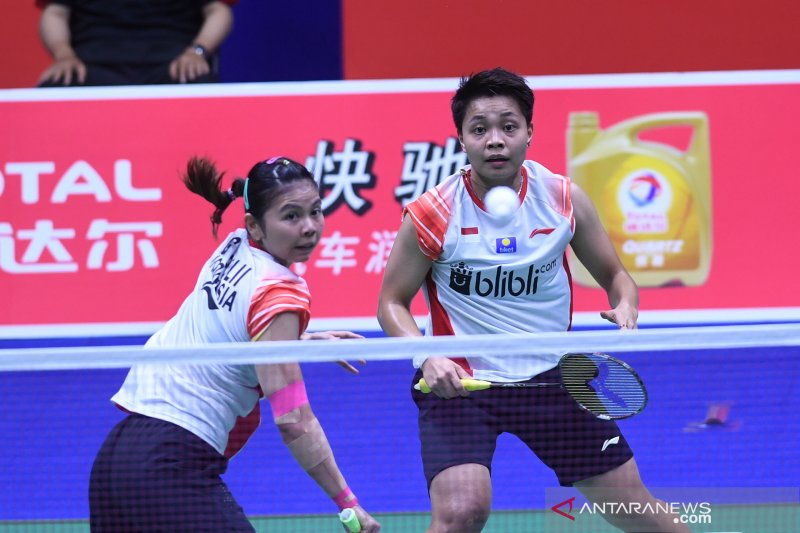 Kalah dari pasangan China,  Greysia/Apriyani gagal kw final  terjegal Australia Open
