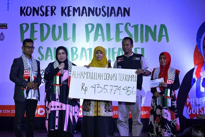 Konser kemanusiaan ACT Jateng terhimpun dana Rp435.774.456