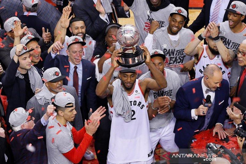 Keyakinan antar Raptors juarai Wilayah Timur NBA