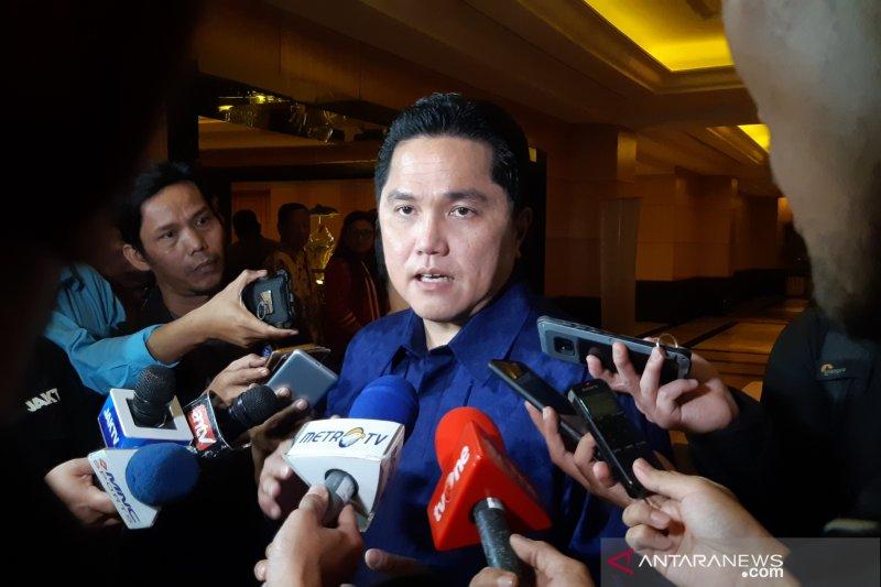 Erick Thohir akui tak mikirkan posisi menteri