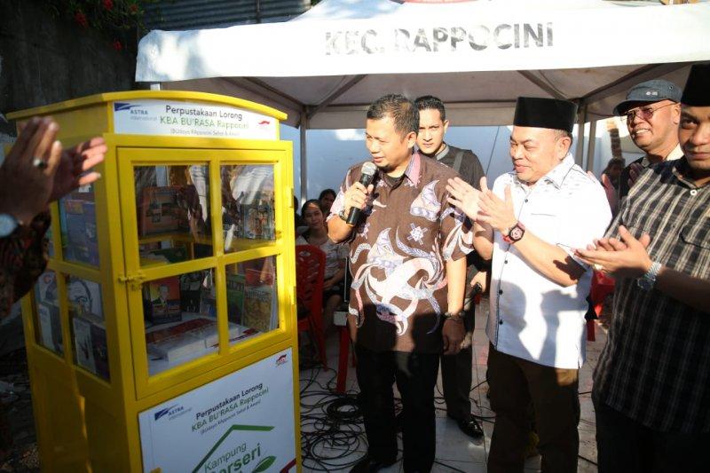Pj Wali Kota Makassar  hadiri pasar murah Rappocini